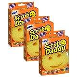 Scrub Daddy Haushaltsschwamm, originell (französisches Modell), 3Stück