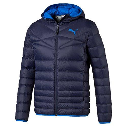 Puma Herren Jacke Active 600 HD PackLITE Jacket, Peacoat (Blau_06),Gr. S