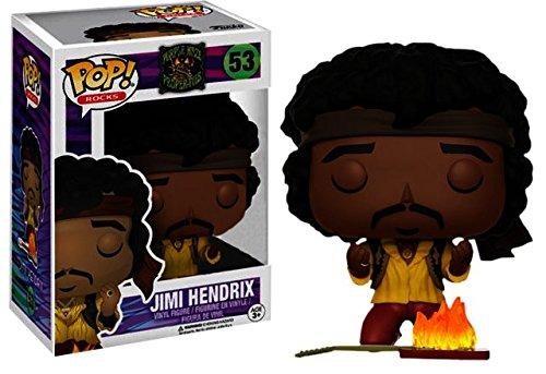 Funko Pop Jimi Hendrix Monterey (Purple Haze Properties 53) Funko Pop Cantantes y Músicos