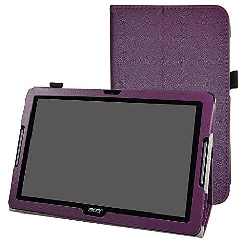 Acer Iconia One 10 B3-A30 Coque,Mama Mouth Slim Folio PU