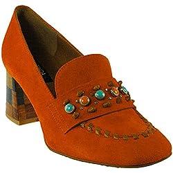 Zinda   Hochfront Pumps - orange, Farbe:orange;Größe:36