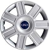 col Adatto a tutti gli standard 4 pezzi per ruote in acciaio 16 pollici Coprimozzo Spark RAU 560.12 Copri Cerchio Argento