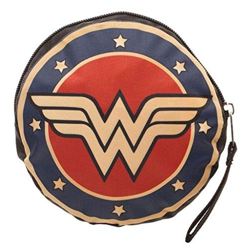 DC Comics Wonder Woman sous licence officielle Logo Packable Sac fourre-tout