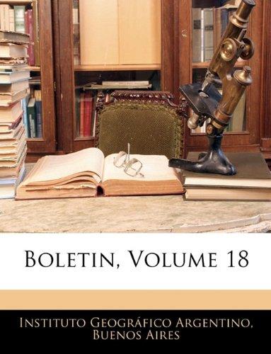 Boletin, Volume 18