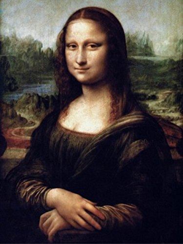 1art1 50807 Leonardo Da Vinci - Mona Lisa Poster Kunstdruck 80 x 60 cm