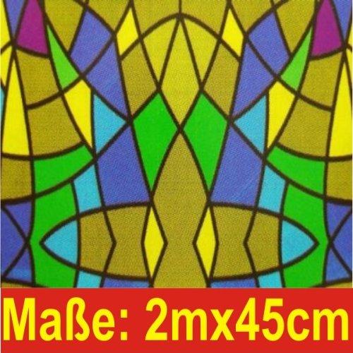 Klebefolie Print Tiffany Mosaik 200x45cm Dekofolie Selbstklebefolie Möbelfolie