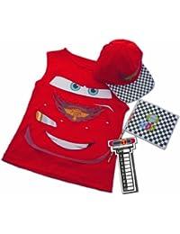 Disney I-3692 - Disfraz de Rayo McQueen (camiseta con accesorios)