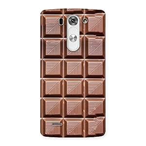 Cute Delicious Choco Back Case Cover for LG G3 Mini