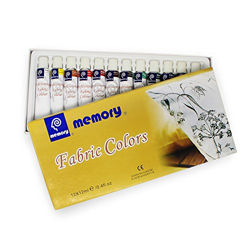memory-professional-artists-fabric-paint-set-12-colours-in-12ml-alumenium-tubes-retail-packed