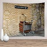Feierman Tapisserie Murale pour Harry Potter Décoration Murale 100% Polyester pour Chambre d'enfant (90x71Inches)(230x180cms) Cwt-289