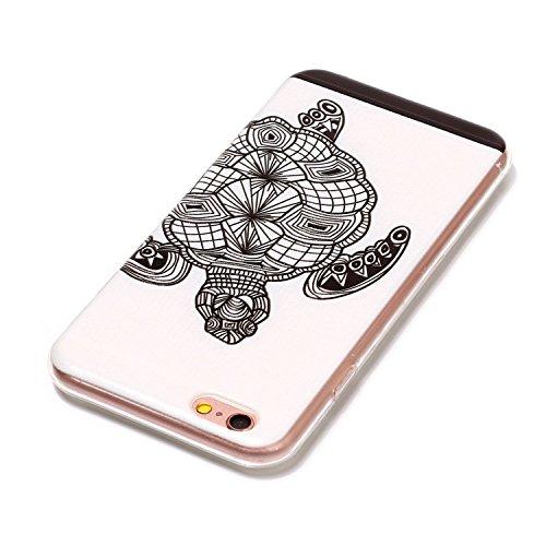 Cover Per Apple iPhone 6, Sunrive® Case Custodia in molle Ultra Sottile morbido TPU silicone Morbida Flessibile Pelle Antigraffio protettiva(tpu pesce) tpu tortuga