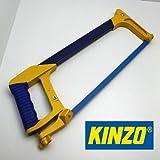 KINZO Metallsäge, 40 cm, rutschfester Kunststoff Griff, Metall Eisen Säge Blatt (LHS)