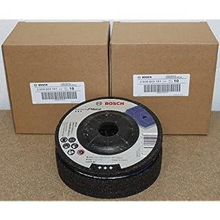 25 Stück Bosch Schruppscheiben gekröpft, Standard für Metall A 24 P BF, 115 mm, 22,23 mm, 6 mm