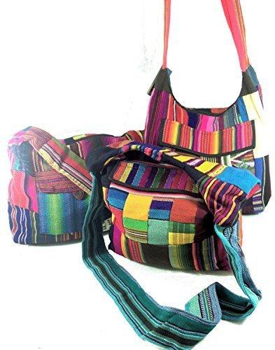 Patchwork Mayan Shoulder Bag