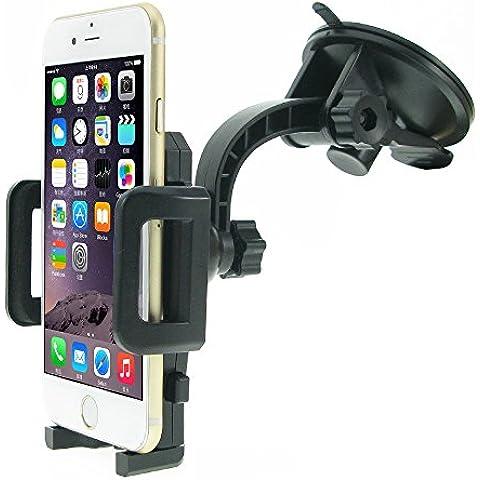 Soporte Universal MTRONX Para Móviles & Smartphones, Parabrisas / Salpicadero Soporte y Montaje de Coche Giro 360º