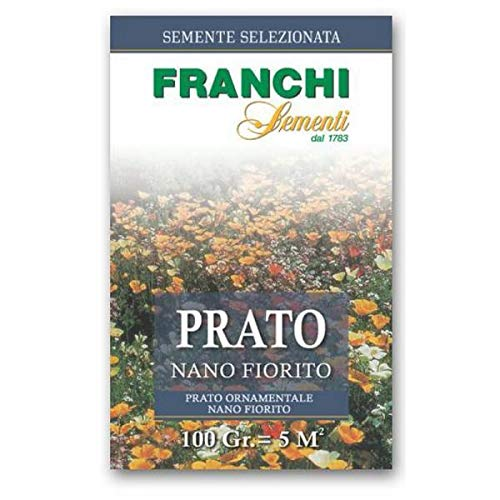 Portal Cool Franchi Sementi Seed Turf Nano Prato Fiorito Gr 100 semi Vegatable Giardino Prato