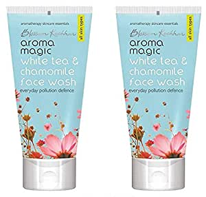 Aroma Magic White Tea and Chamomile Face Wash (Pack Of 2) 100ml