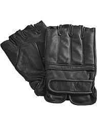 Quarzsand Handschuhe aus Leder ohne Finger
