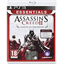PS3 ESSENTIALS ASSASSINS CREED II GAME OF THE YEAR ED.