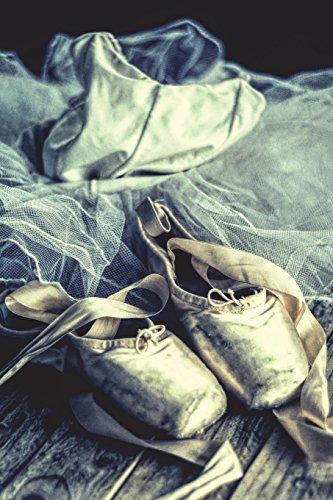 Ballet Shoes & Tutu - Blank Notebook with Fleur de Lis Corners: Soft Cover, 6 x 9 Journal, 100 Pages por Legacy