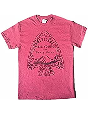 Neil Young - Americana - Camiseta Oficial Hombre