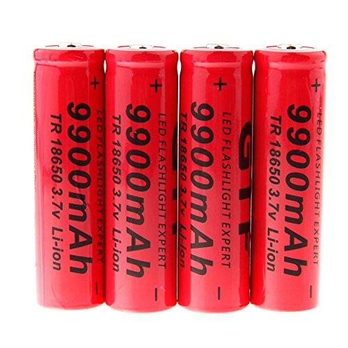 Yiwa Batería Recargable Li-Ion Dragonpad GTF 4pcs