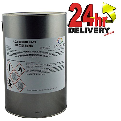 manor-qd-phosphate-high-build-zinc-hb420-metal-red-oxide-primer-5litre-hb420ro-ideal-for-heavy-vehic