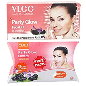 VLCC Party Glow Facial Kit, 60g with Free Party Glow Facial Kit, 60g