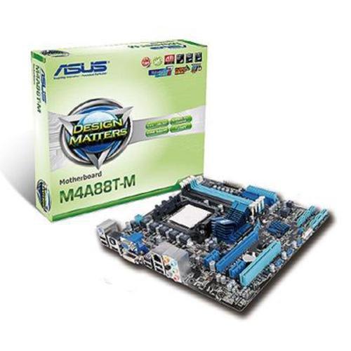ASUS M4A88T-M Mainboard (AMD 880G/SB710, Sockel AM3, mATX, CoreUnlocker)
