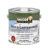 Saicos 2301 500 Haus und Gartenfarbe schwedenrot 2.5 l