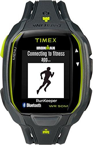 Timex Men's Ironman Run TW5K84500 Grey Resin Quartz Sport Watch