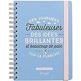 Mr.Wonderful woa03570fr agenda 2016/2017motivo de las Jornadas Fabuleuses de las ideas brillantes y beaucoup
