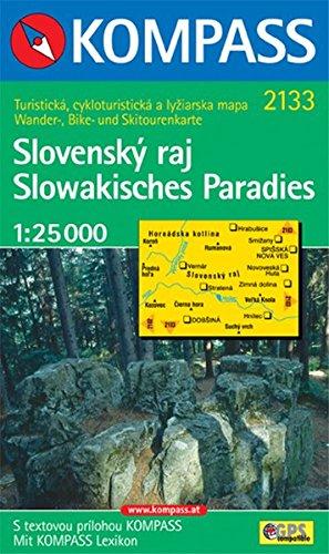 Slowakisches Paradies / Slovensky raj: 1 : 25 000. Wander-, Bike- und Skitourenkarte. GPS-genau