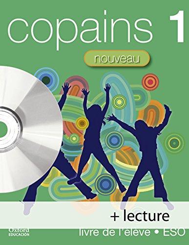 Pack copains nouveau 1º livre de l'élève + lecture/cd - audio
