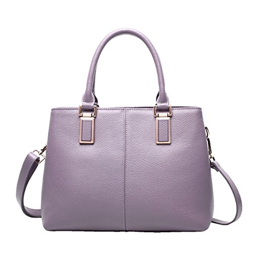 Mena UK - Femmes Nouveau OL Lychee motif sac en cuir artificiel / Sac à bandoulière / Messenger Bag