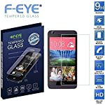 F-EYE high quality premium branded tempered glass is made to cover and protect your mobile screen HTC Desire 626 from damage and scratches with specially processed transparent glass that has been reinforced for scratch resistance. The 0.33mm thicknes...