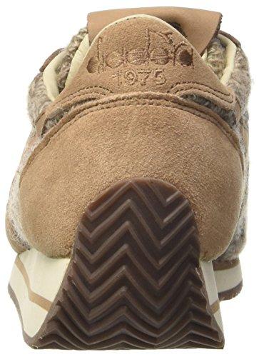 Diadora Equipe Hh Tricot, chaussure de sport femme Marrone (Dark Brown)