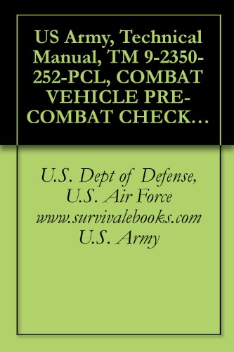 US Army, Technical Manual, TM 9-2350-252-PCL, COMBAT VEHICLE PRE-COMBAT CHECKLIST FOR FIGHTING VEHICLE, INFAN M2, (NSN 2350-01-048-5920), M2A1, (2350-01-179-1027), ... military manuals on cd, (English Edition) M2 Dvd