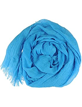 Gorgeous Ladies Super suave bloque color con flecos bufanda Wrap