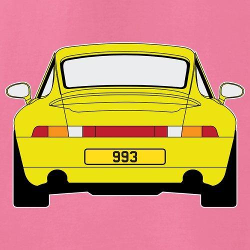 Porsche 993 Gelb - Damen T-Shirt - 14 Farben Azalee