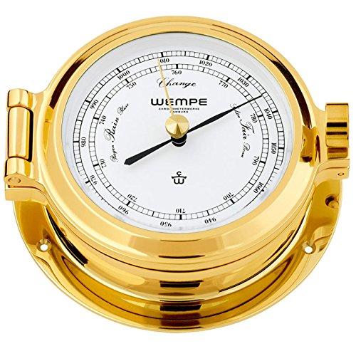 Barometer Nautik Messing Ø 120mm - Schweremesser Druckmesser