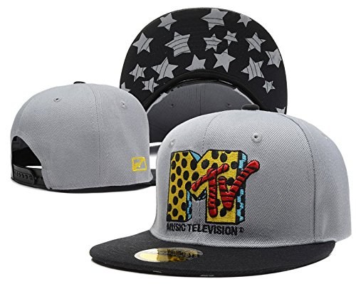 shoekurla-hd-unisex-adjustable-fashion-leisure-baseball-hat-the-yo-mtv-rap-logo-snapback-dual-colour
