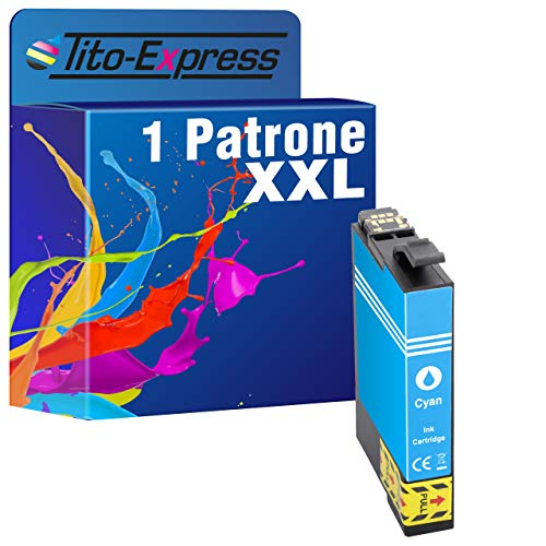 Cartuccia PlatinumSeries 1 XXL Cyan TE2992 compatibile per Epson XP-235 XP-245 XP-247 XP-255 XP-257 XP-332 XP-335 XP-342 XP-345 XP-352 XP-355 XP-432 XP-435 XP 442 XP-445 XP-452 XP-455