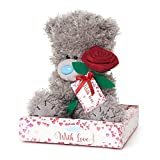 Me to You Tatty Teddy Bear with a Red Rose