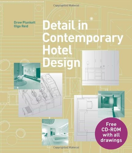 Detail in Contemporary Hotel Design (Book & CD) by Drew Plunkett (2013-09-16)