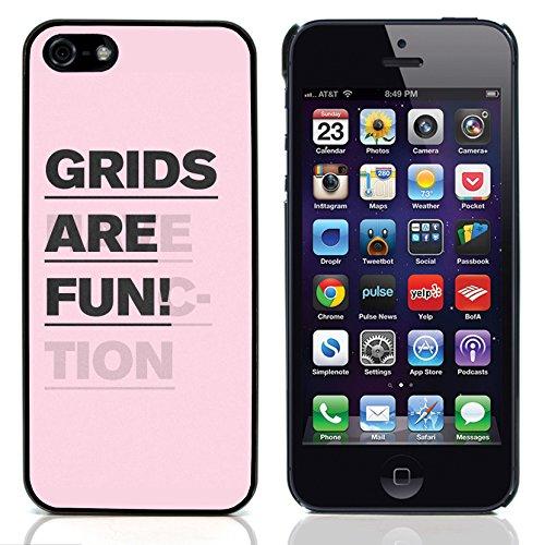 """Graphic4You """"Expect Nothing..."""" Life Proverb Zitat Design Harte Hülle Case Tasche Schutzhülle für Apple iPhone 5 und 5S Design #7"""