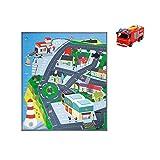 Dickie Toys 203096003 - Feuerwehrmann Sam Spielmatte