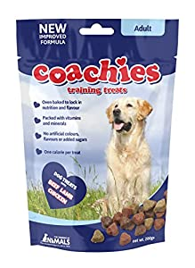 Company of Animals Coachies Friandises pour Chien Adulte Sachet de 200 g