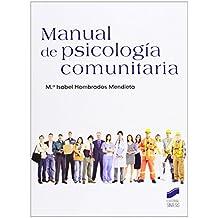 Manual de psicología comunitaria de María Isabel Hombrados Mendieta (5 feb 2013) Tapa blanda