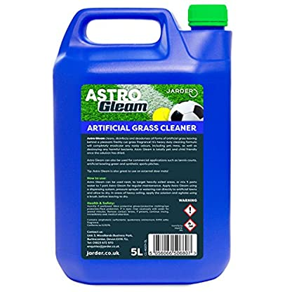 Jarder Astro Gleam Artificial Grass Cleaner - Concentrated Disinfectant & Deodoriser For Astroturf (5L) 3